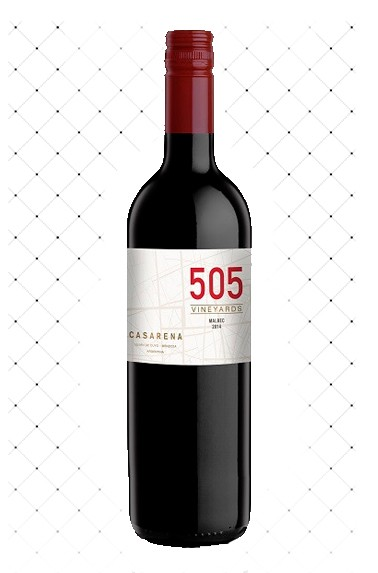 VINHO ARG. CASARENA 505 VINEYARDS MALBEC 750ML