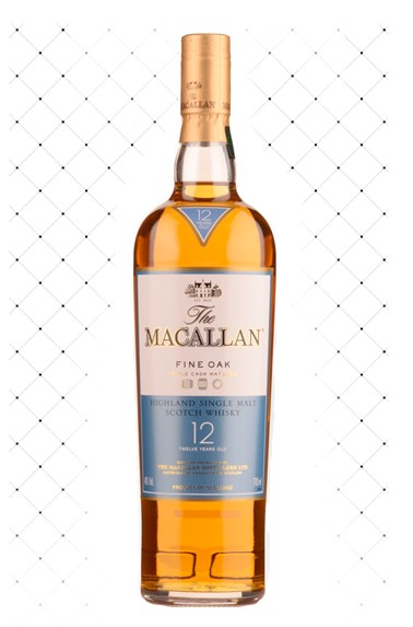WHISKY THE MACALLAN FINE OAK 12 YEARS 700ML