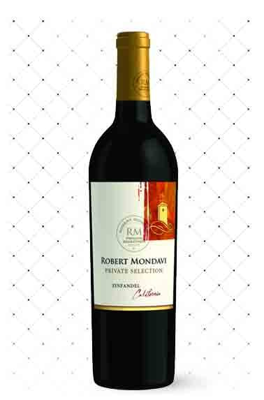 VINHO CAL. ROBERT MONDAVI PRIVATE SELECTION ZINFANDEL g