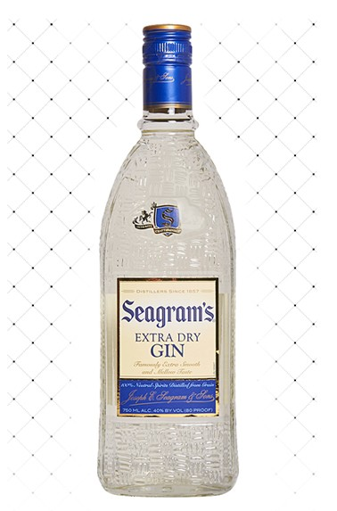 GIN AMER. SEAGRAM S EXTRA DRY 750ML
