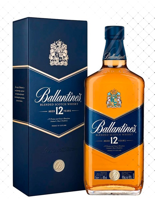 WHISKY BALLANTINES 12 YEARS 750ML  g