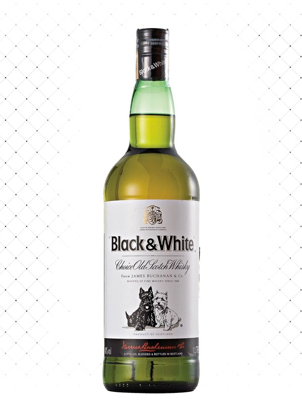WHISKY BLACK & WHITE 1000ML g