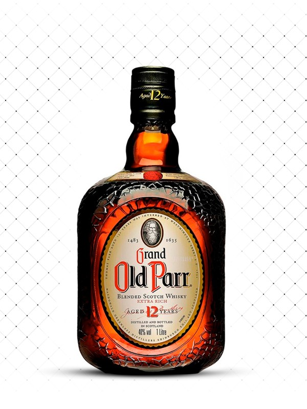 WHISKY GRAND OLD PARR DE LUXE 12 1000ML
