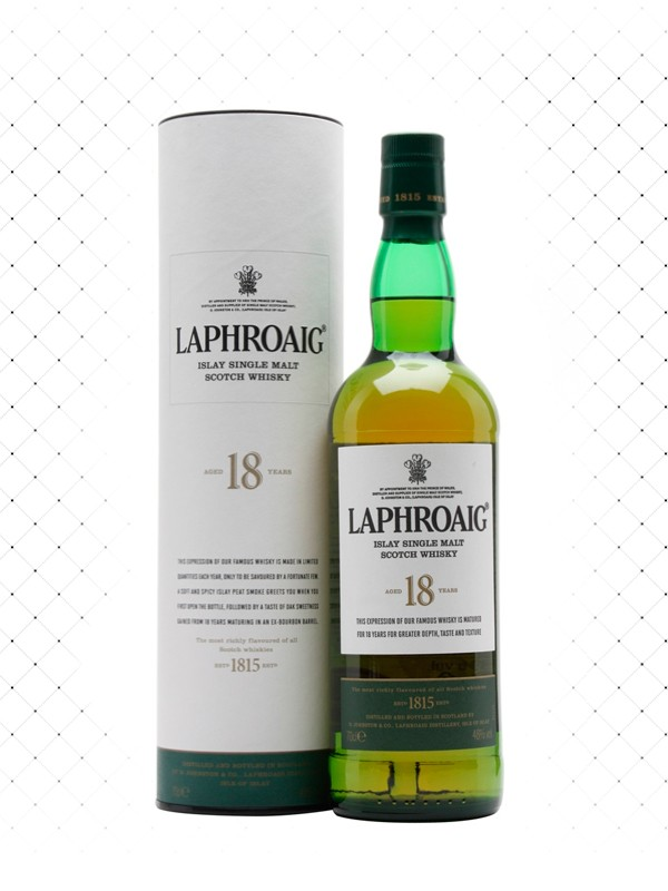 WHISKY LAPHROAIG 18 ANOS 750ML