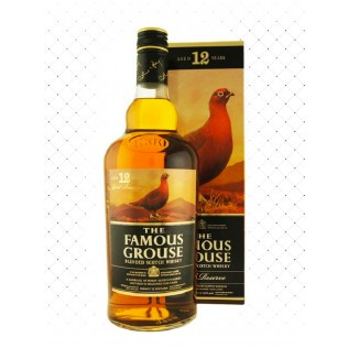 WHISKY FAMOUS GROUSE 12 ANOS 1000ML g